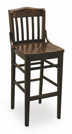 Florida Seating Bar Stool FLS-02B-SS-BLACK
