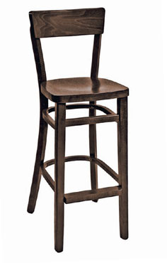 Florida Seating Bar Stool FLS-08BO-VS-WALNUT