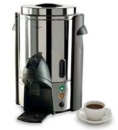 Focus Regalware Stainless Steel Coffee Maker With Press Lever, 60 Cups