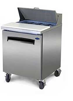 Fogel Sandwich Prep Table FLP-27-8