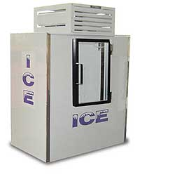 Indoor Fogel Ice Merchandiser ICB-1-GL