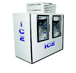 Indoor Fogel Ice Merchandiser ICB-100-GL