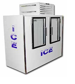 Indoor Fogel Ice Merchandiser ICB-2-GL
