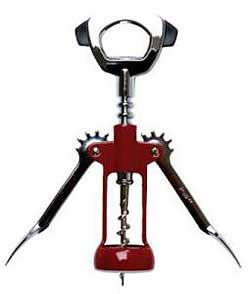 Ultimo Wing Corkscrew with Built-In Foilcutter & Bottle Opener