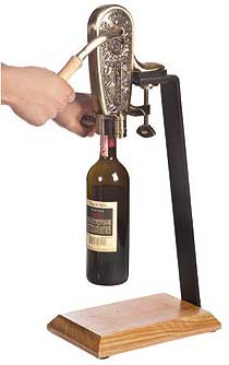 Le Grape Uncorking Machine and Table Stand - 4085SET-BXR