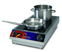 Garland Electric Countertop Induction Range - 2 Burners, 3500-Watts