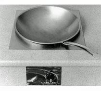 Garland Built-In Wok-Style Induction Range - 1 Burner, 3500-Watts