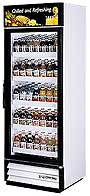 True GDM-19 Glass Door Refrigerator (swing door)