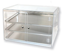 Self Serve Full Sheet Bakery Display Case - BDT3FULLSS