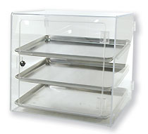 Self Serve Half Sheet Acrylic Bakery Case - BDT3HALFSS