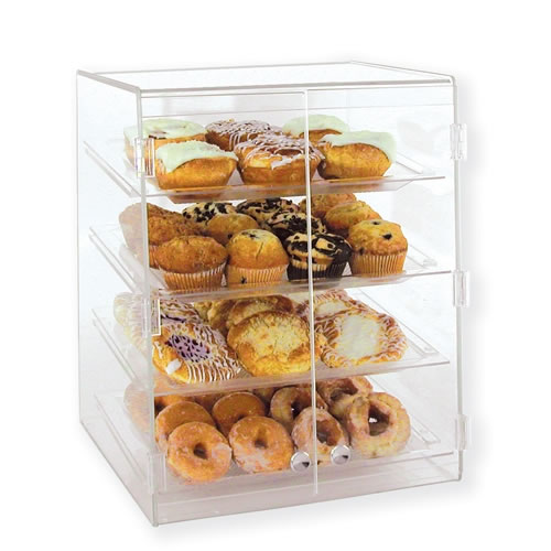Goldleaf Four Tier Bakery Display Case (Self-Serve) - BDT4W