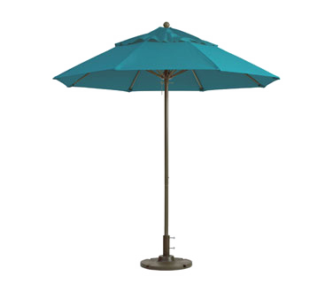 Grosfillex Windmaster Fiberglass Patio Umbrella