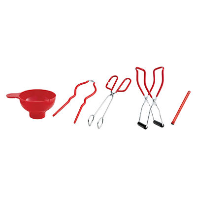 HIC Canning Supplies Set With Funnel - 43610