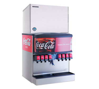 Hoshizaki Modular Cuber Ice Machine KMD-460 For Soda Dispensers, 30 Inches