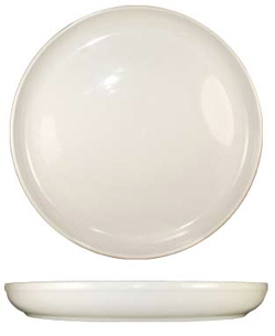 13-1/2 Inch Ceramic Pizza Plate, Case of 6, American White - PZ-14-AW
