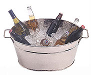 Hand Crafted Hammered Party Tub by American Metalcraft