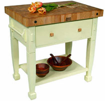 John Boos Jasmine Block Table