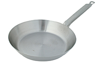 Steel French Style Fry Pan, 7-1/2 Inch