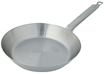 Steel French Style Fry Pan, 15 Inch