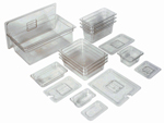 Clear Prep Table Pan Covers