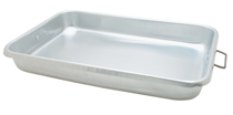 "Aluminum Roast Pan With Handles, 18"" x 12"" x 2-1/4"" - ABP-1218"