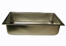 Aluminum Water Pan, Spillage Pan With Rim, 5-1/2 Inch Deep