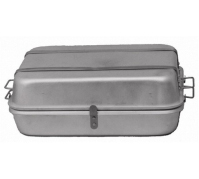 "Double Roasting Pan With Handles, 18"" x 24"" x 4.5"""