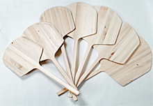 "Wood Pizza Peel WPP1442, 14"" x 16"" Blade"