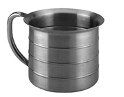 Stainless Steel 4 Quart Urn Measurer, 1 Quart Graduation