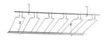 "Overhead Glass Rack, 18"" x 36"", 9 Channel"