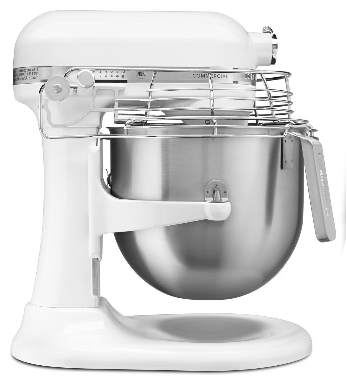 KitchenAid KSMC895 Commercial 8 Quart Mixer With Bowl Guard