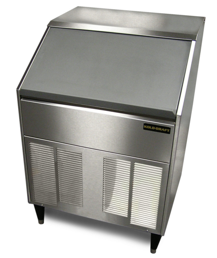 Kold-Draft Full Size Extra-Large Cube Undercounter Ice Machine With Bin, 200 Lbs. Production - SC201AC