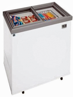 Electrolux Kelvinator Ice Cream Display Freezer, 7.37 Cu. Ft.
