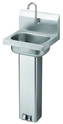 Krowne Pedestal Wall-mount Commerical Sink