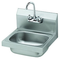 Stainless Steel Hand Sink With Gooseneck - ROY HS 15
