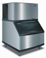 Manitowoc S-300 Series Ice Machine SY-0304A - Air Cooled, Half Dice with B-400 Bin