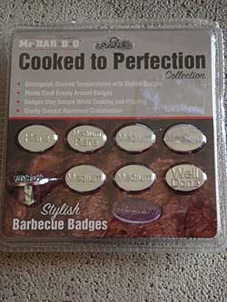 BBQ Badges Cooked to Perfection Collection, 8 Pcs.
