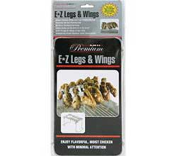 E-Z Legs and Wing Grilling Rack