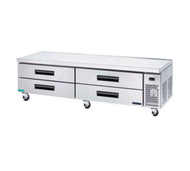 MaxxCold Refrigerated Chef Base MCCB54, 53 Inches Wide