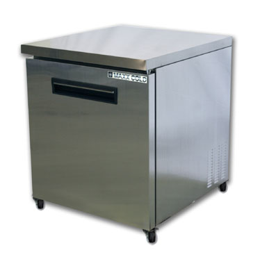 MaxxCold Reach-In Undercounter Freezer, 1 section MCF27U