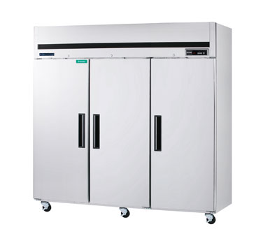 MaxxCold Reach-In Freezer, 3 sections MCFT-72FDHC