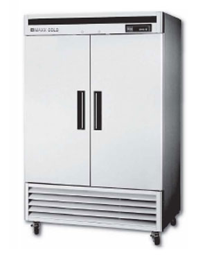 MaxxCold Reach-in Refrigerator, 2 sections MCR-49FD
