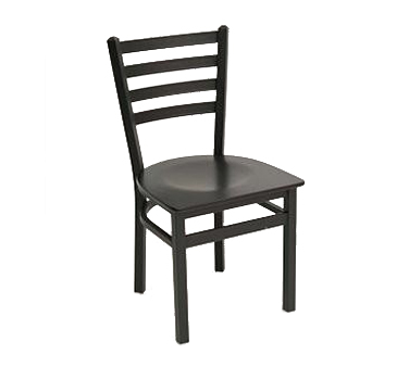 Florida Seating Chair MET-05S-SS-BLACK