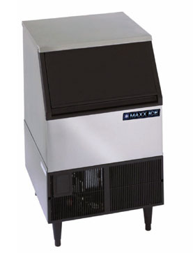 MaxxCold Ice Machine with Bin MIM250