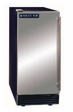MaxxCold MIM50 Undercounter Ice Machine with Bin