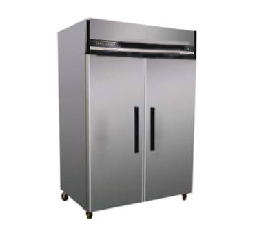 MaxxCold Reach-in Refrigerator, 2 sections MXCR-49FD