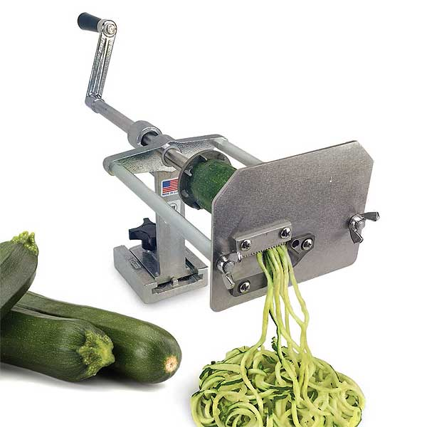 Nemco 55050AN-P Vegetable Noodler / Spiralizer, Zucchini Noodle Machine