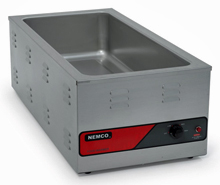 Nemco Oversized Countertop Food Warmer, 4/3 Size - 6055A-43