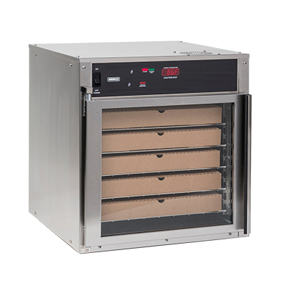Nemco 6405 Countertop Heated Pizza Holding Cabinet With 5