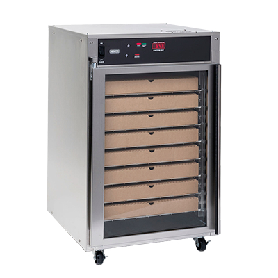 Nemco 6410 Heated Pizza Holding Cabinet With 8 Racks